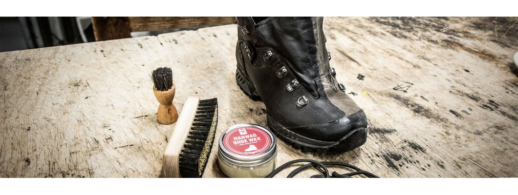 Hanwag the basics: shoe cleaning and shoe care