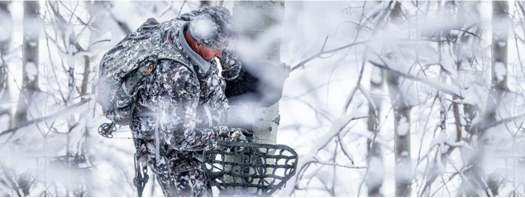Sitka Gear - Beyond layers - Athlete Jim Hole in the pursuing whitetail