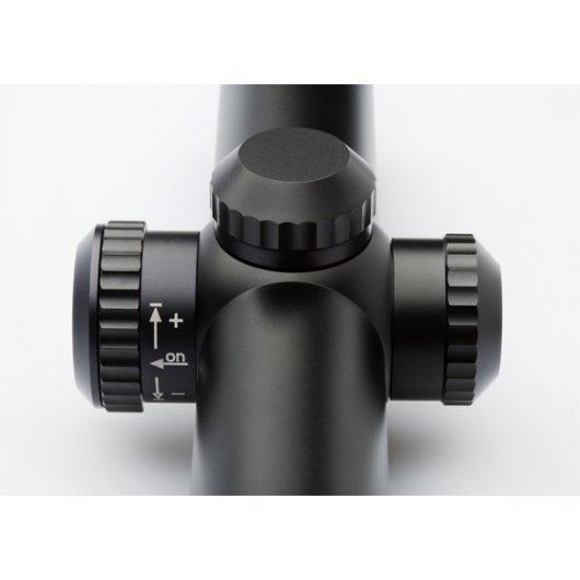 Оптика Docter Basic VZF 2,5-10x50 Скала 4-0 подсветка със светеща точка