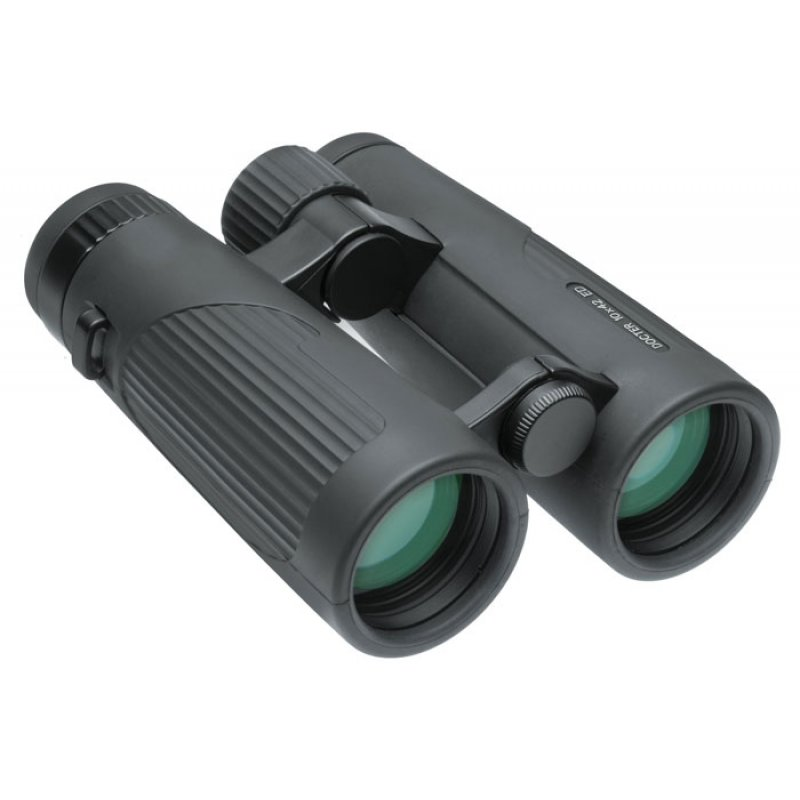 Docter roof prism binoculars 10x42 anthracite