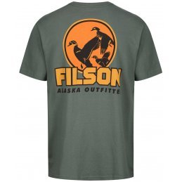 Filson Outfitter graphic t-shirt - service green