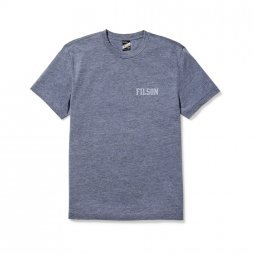Filson Buckshot t-shirt - Light Blue Heather