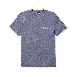 Filson Buckshot t-shirt - Light Blue Heather