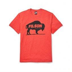 Filson Buckshot t-shirt - Red Heather