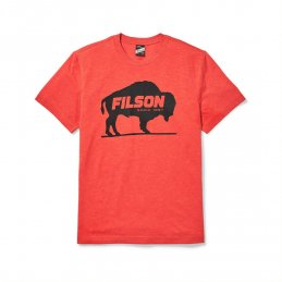 Filson Buckshot t-shirt - Red Heather