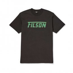 Filson Outfitter graphic t-shirt - faded black