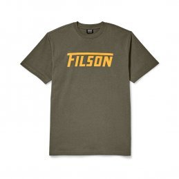Filson Outfitter graphic t-shirt - otter green