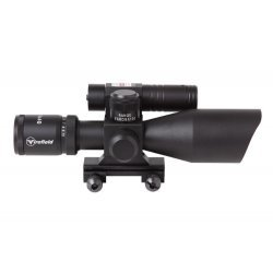 Firefield 2.5-10x40 riflescope with green laser