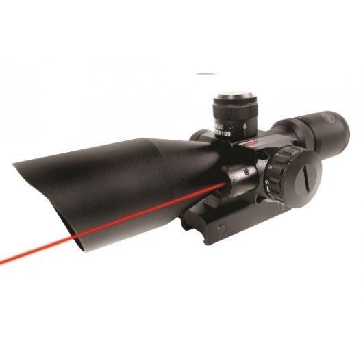 Оптика Firefield 2.5-10x40 с червен лазер