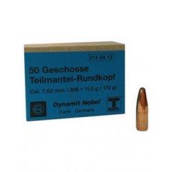 Geco reloading bullets - 7,62 mm SP - 50 pcs/box