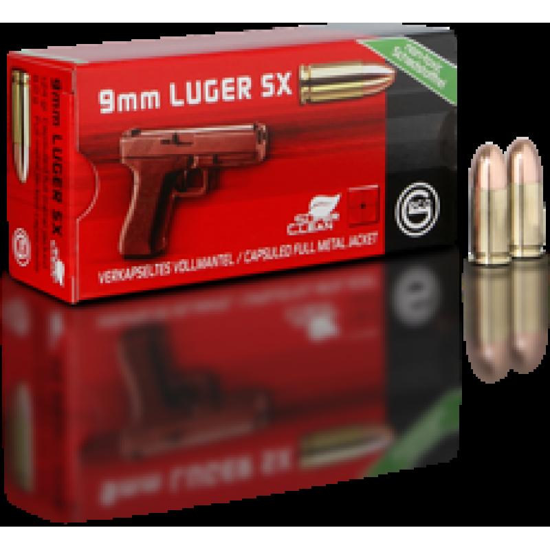 Handgun ammunition GECO 9 x 19 Luger SX Tombak