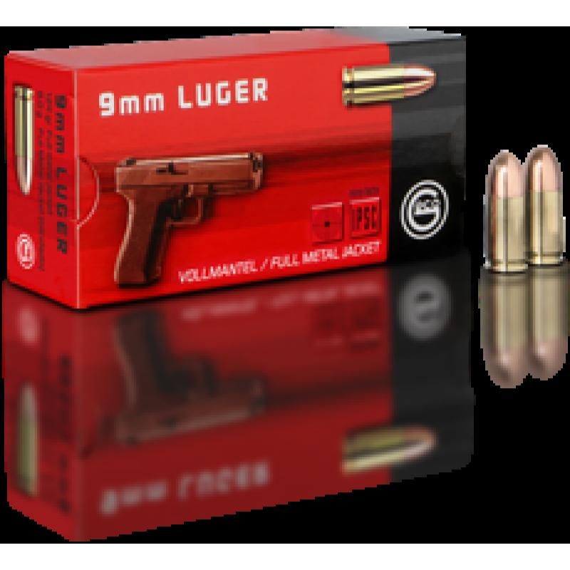 Handgun ammunition GECO 9 x 19 Luger VM