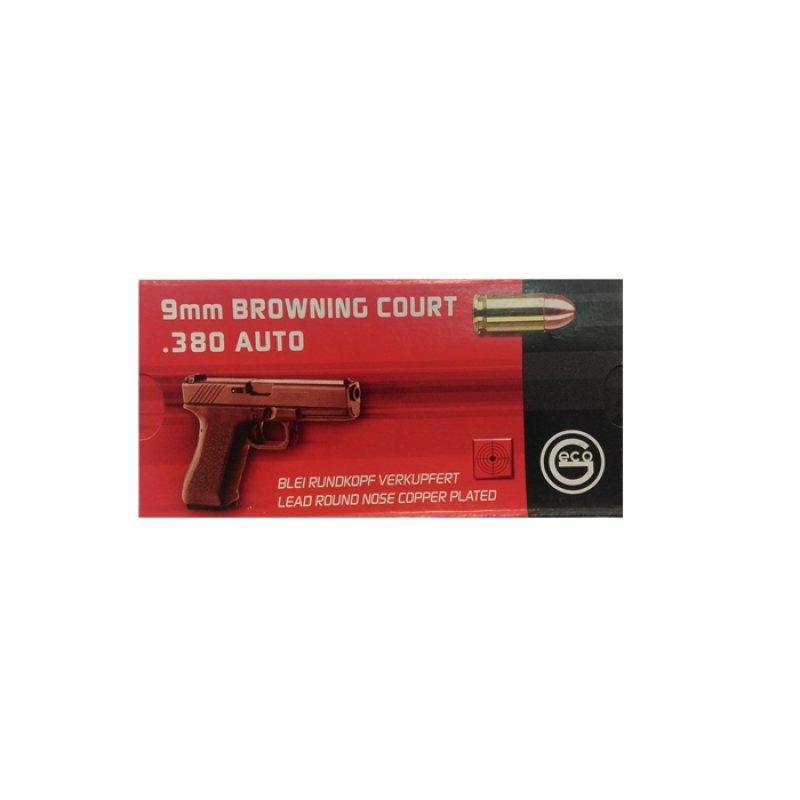 Handgun ammunition GECO 9 x 17 Kurz Bleiges