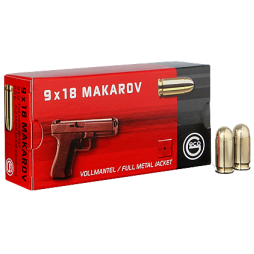 Handgun ammunition GECO 9 x 18 Makarov VM
