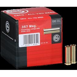Geco cases for revolver cartridges - 357 Magnum - 100 pcs/box