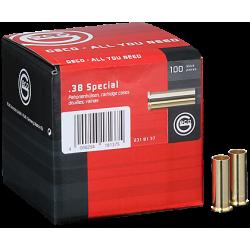Geco cases for revolver cartridges - 38 Special - 1000 pcs/box