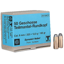 Geco reloading bullets - 8 mm S SP - 50 pcs/box