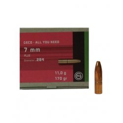 Geco reloading bullets - 7 mm Plus - 50 pcs/box