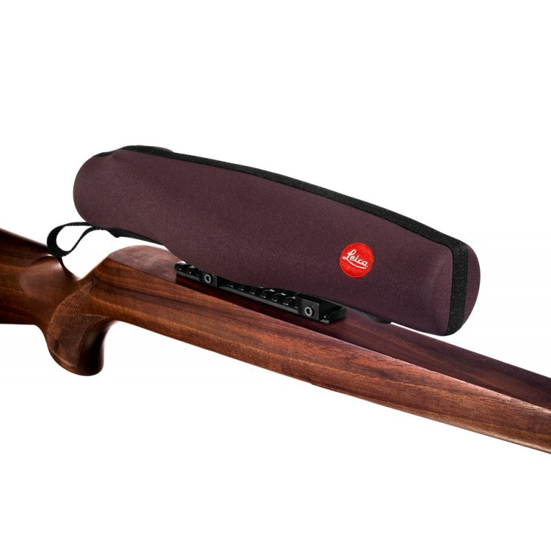 Leica rifle scope cover - chocolate brown, M