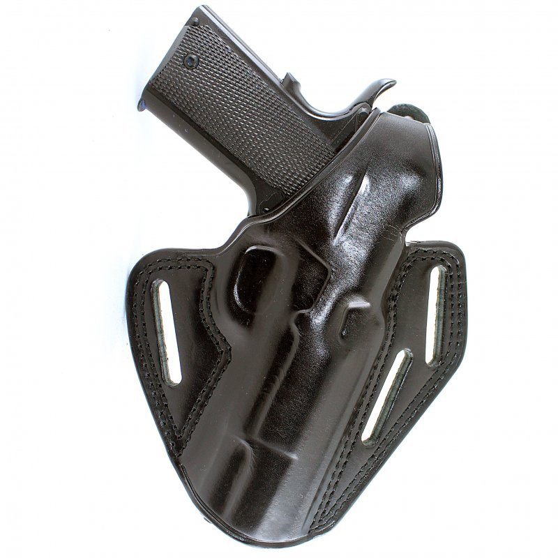 "Belt holster Masc Holster GF-110 Azlal for Browning B.H.P-HI Power 4,7"" Barrel"