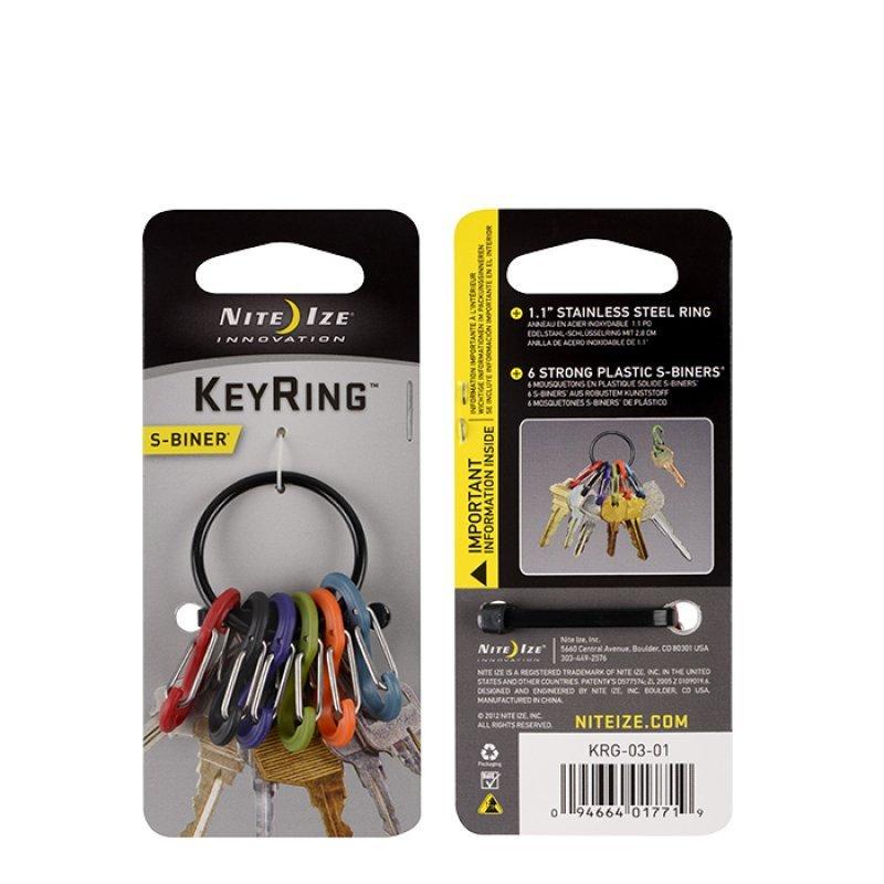 S-Biner KeyRing - black