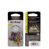 S-Biner KeyRing - stainless