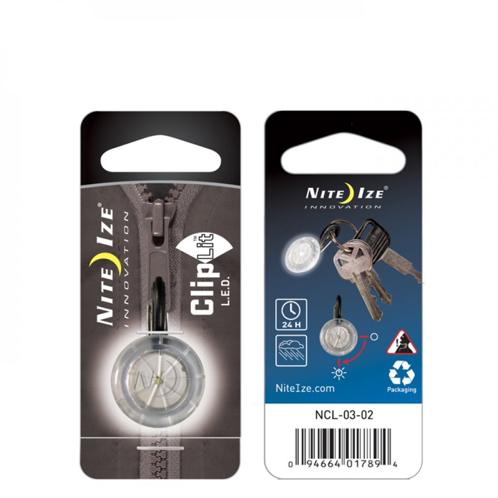 S-Biner ClipLit white LED light
