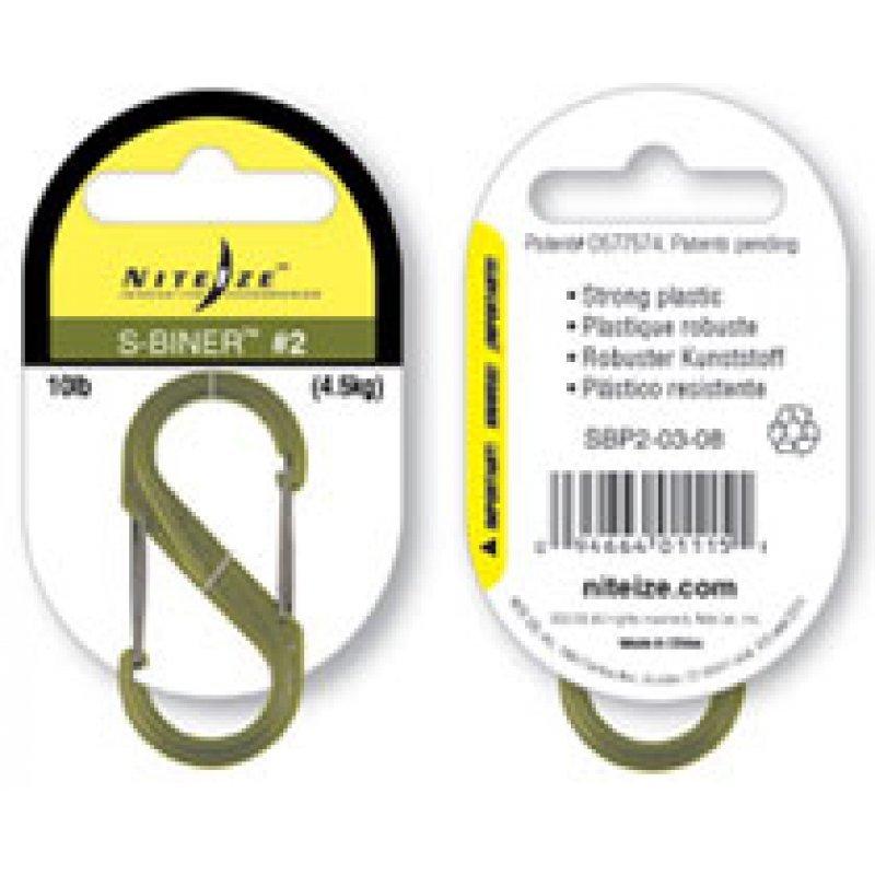 S-Biner plastic in green color - #2