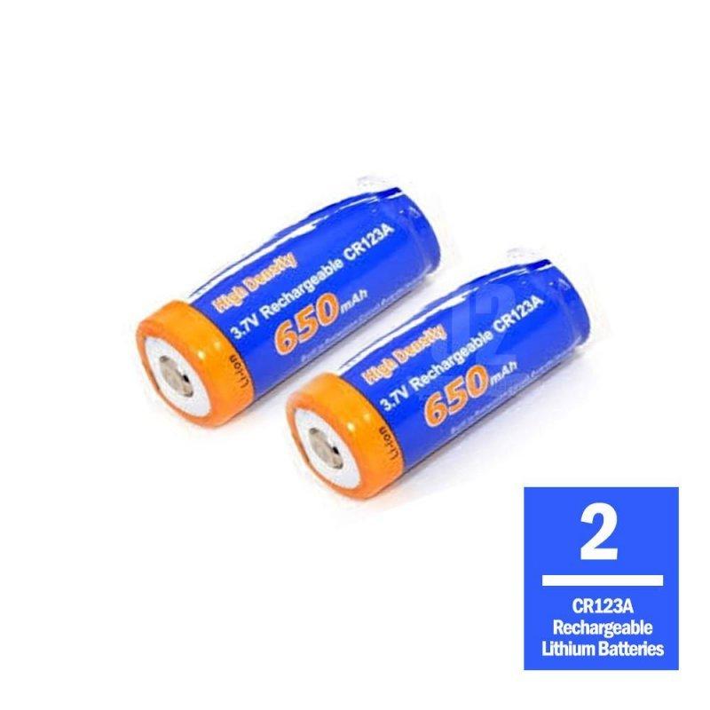 Cytac RCR123 rechargeable batteries