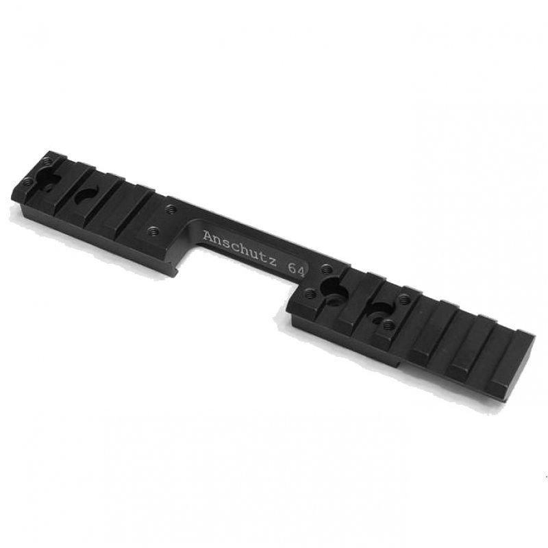 Anschutz 64 Action Magnum Picatinny Adapter Rail 0 MOA