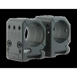 "Spuhr mount rings 30mm H25,4mm/1"""