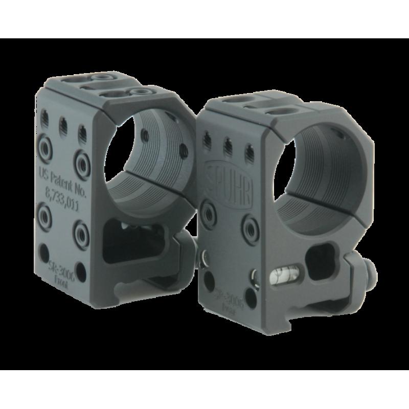 "Spuhr mount rings 30mm H34mm/1,35"""