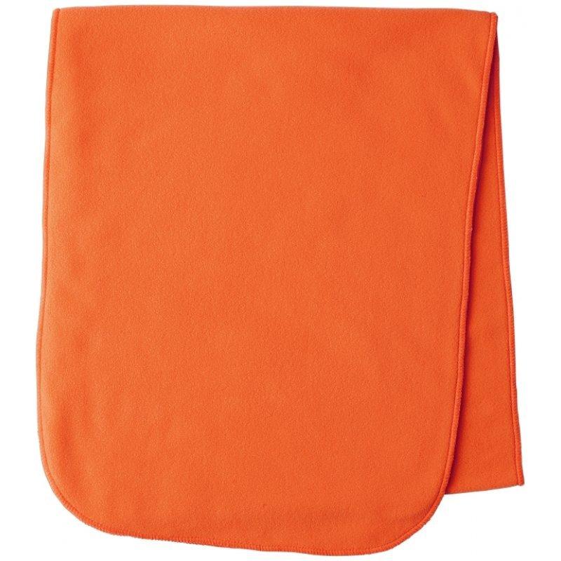 Seeland Conley fleece scarf - fluorescent orange