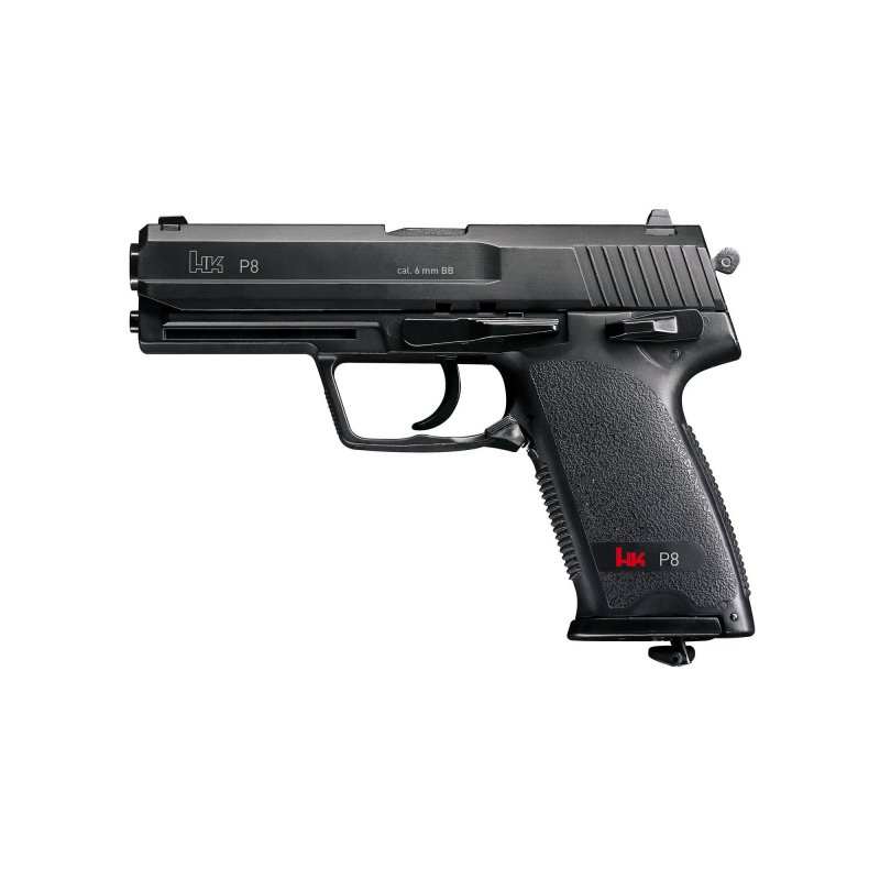 Airsoft pistol Heckler & Koch P8 - with CO2