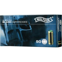 Blank cartridges Walther - 9 mm.