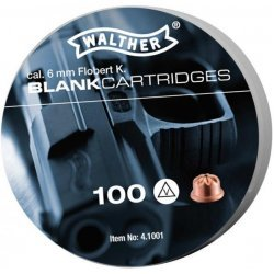 Blank cartridges Walther - 6 mm