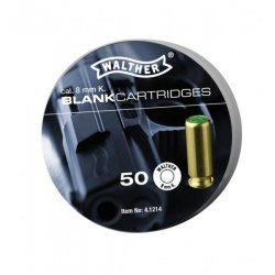 Blank cartridges Walther - 8 mm