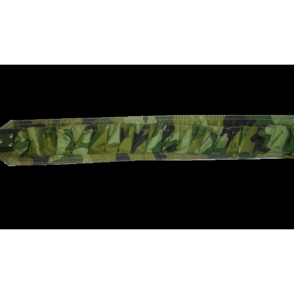 Vurgun textile cartridge belt - open