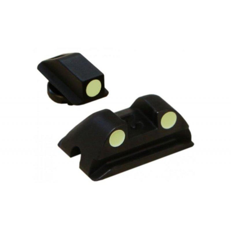 Walther Steel sights (Blister) for P99, PPS, PPQ