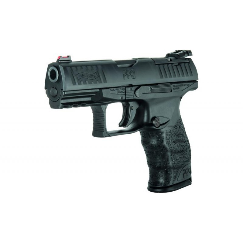 Walther PPQ Q4 4'' Black AM, cal.9x19