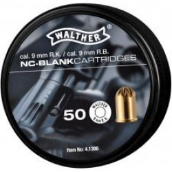 Blank cartridges Walther R.K. - 9 mm.