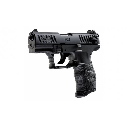 Боен пистолет Walther P22Q - черен EU, кал.22 LR