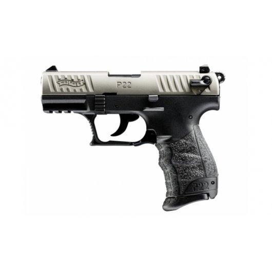 Боен пистолет Walther P22Q - никел EU, кал.22 LR