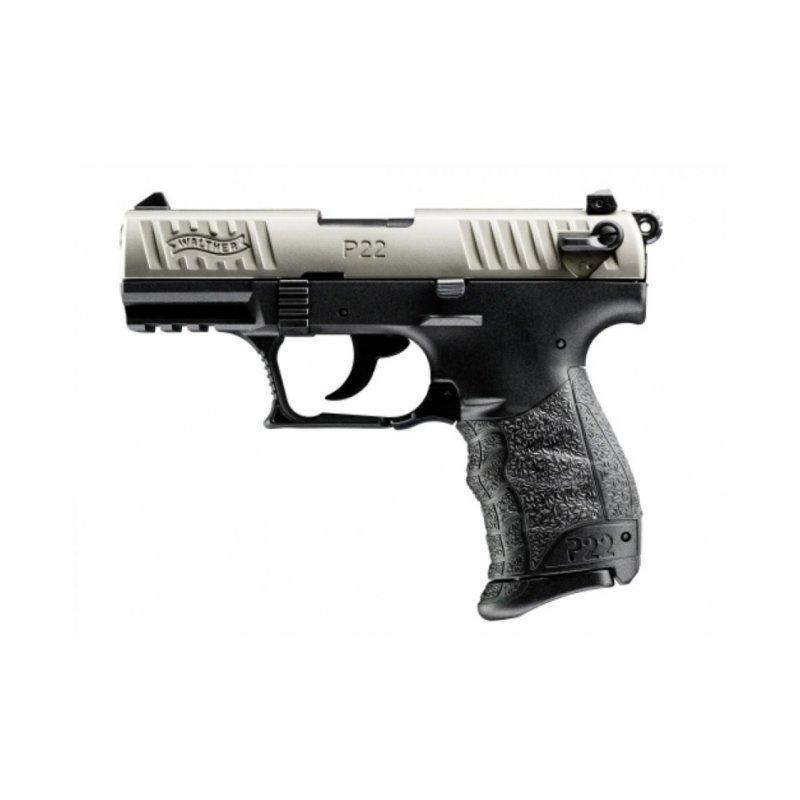 Walther P22Q Nickel EU - cal. 22 l.r.