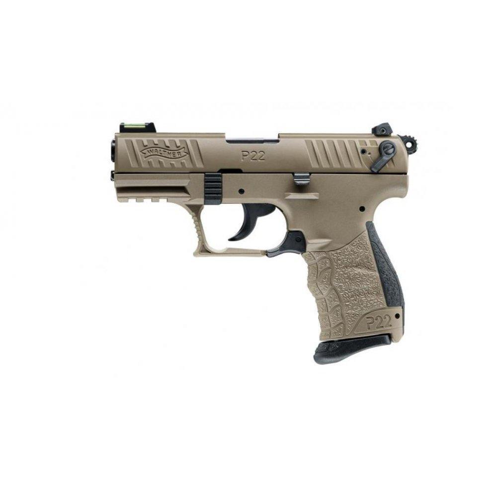 Walther P22QD FDE - cal.22 l.r