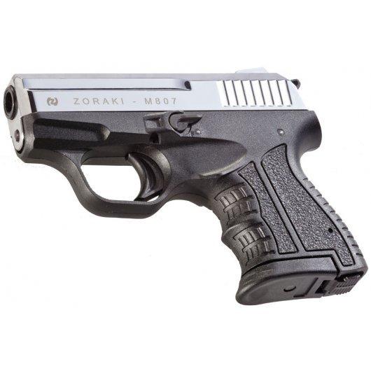 Газов пистолет Zoraki M 807 Полиран хром
